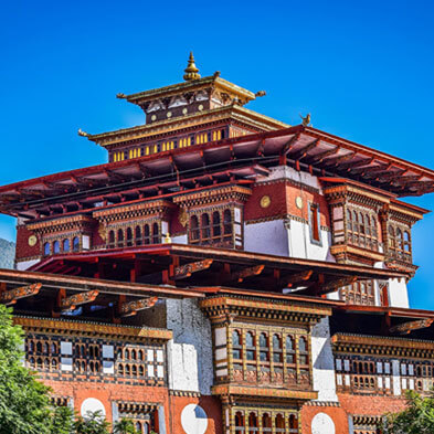 One of the oldest Buddhist temple in Bhutan Bhutan Tour Package, package with Fortune Connect Holidays, Visit Punakha Dzong, buddhist temple in Bhutan, second largest and oldest dzong in Bhutan