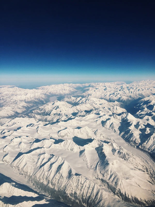Arial View of Kashmir