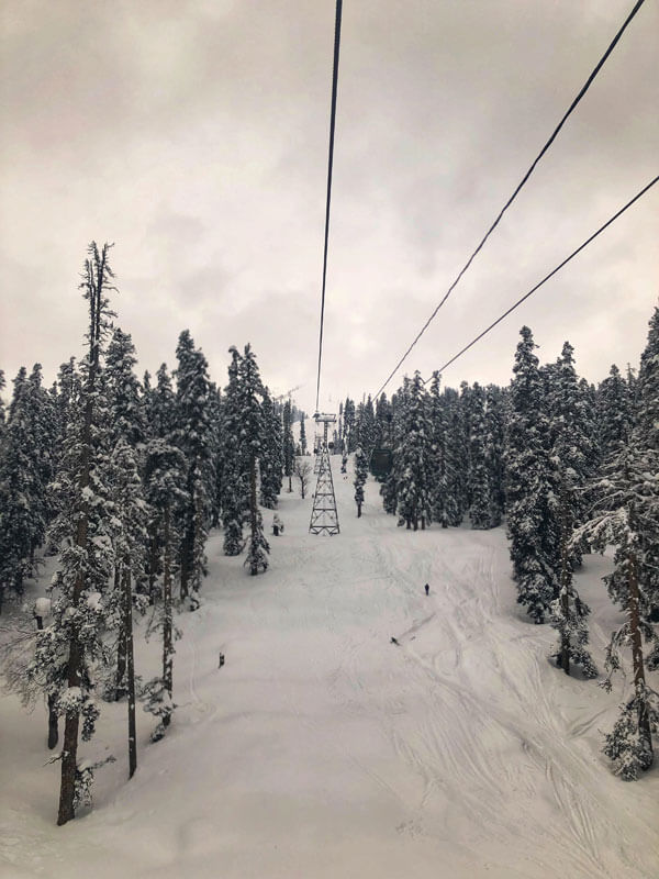 Gondola Ride In Gulmarg, Kashmir. Stay at Gulmarg