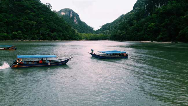 Nature view, Boat ride, Malaysia, Fortune Connect Holidays, Langkawi boat ride, boating experience