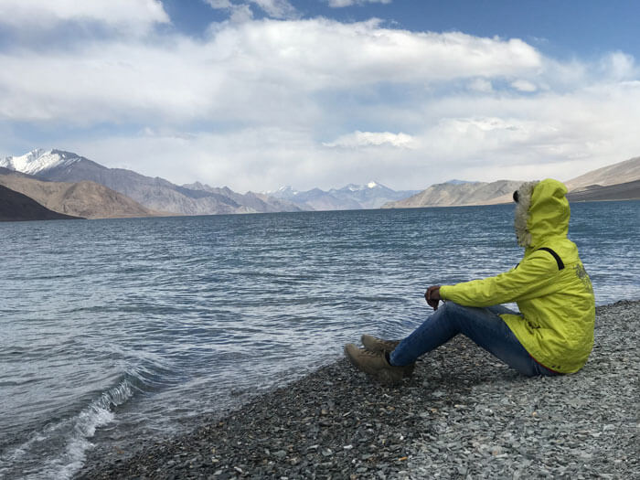 Pangong lake in Ladakh. Cutomized trip and fixed departure available for Ladakh