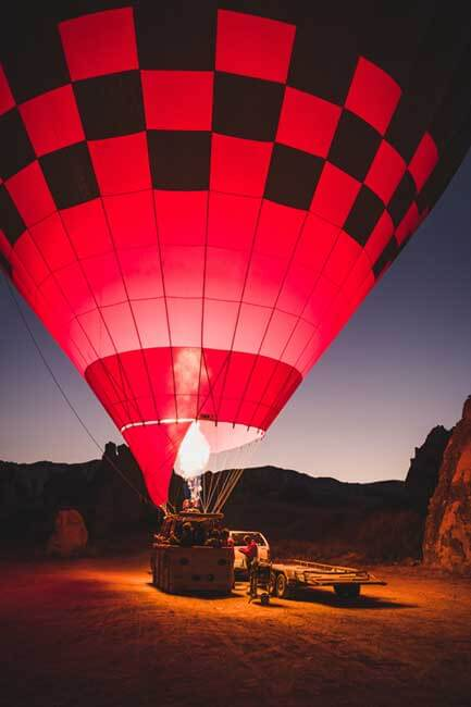 Lifetime experience at Cappadocia Hot Air Ballon. Book your trip with Fortune Connect Holidays