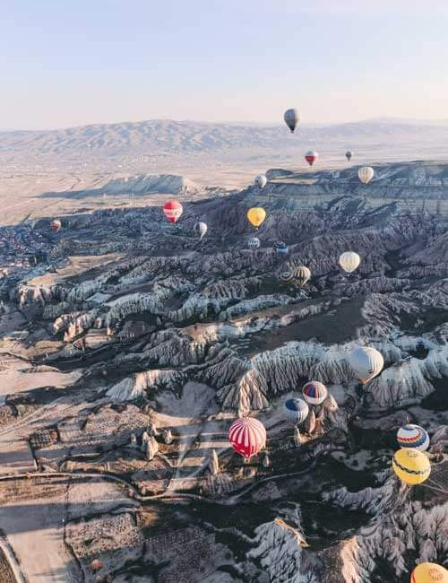 Hot Air Ballon Cappadocia Turkey, Morning Tour , Must experience the tour. Fortune Connect holidays provide package with