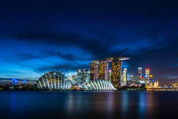 Singapore Nightlife, Beautiful view with Fortune Connect Holidays Tours and travels, Singapore nightout